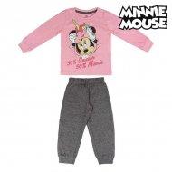 Pyžamo Dětské Minnie Mouse 74175 Růžový - 4 roky