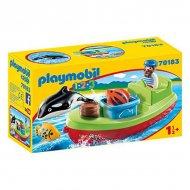 Playset 1.2.3 Fisherman Playmobil 70183 (7 pcs)