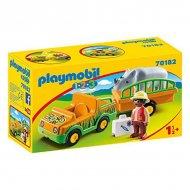 Playset 1.2.3 Zoo Playmobil 70182 (5 pcs)