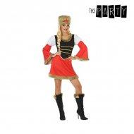 Kostým pro dospělé Ruska Červený (2 Pcs) - XS/S