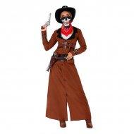Kostým pro dospělé 114401 Žena kovboj - M/L