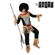 Kostým pro dospělé Zulu - XL