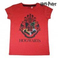 Děstké Tričko s krátkým rukávem Harry Potter Červený - 14 roků