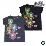 Děstké Tričko s krátkým rukávem LOL Surprise! Svítící ve tmě - 8 roků