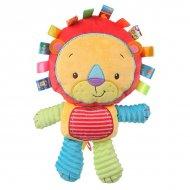 Měkká hračka pro děti na aktivity Nenikos Lev +3m 112153