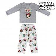 Pyžamo Dětské Minnie Mouse 74737 Šedý - 4 roky