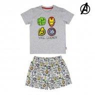 Pyžamo Dětské The Avengers Šedý - 8 roků