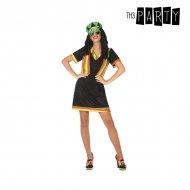 Kostým pro dospělé Jamajský Černý (2 Pcs) - XL