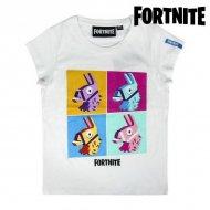 Děstké Tričko s krátkým rukávem Fortnite 75052 Bílý - 12 roků