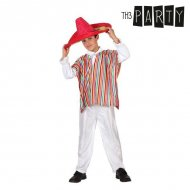 Kostým pro děti Mexičan (2 Pcs) - 5–6 roků