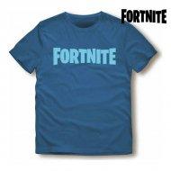 Unisex tričko s krátkým rukávem Fortnite Modrý - 12 roků