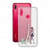 Pouzdro na mobily Huawei Y7 2019 Contact Flex France TPU