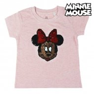 Děstké Tričko s krátkým rukávem Minnie Mouse Růžový Filtry - 2 roky