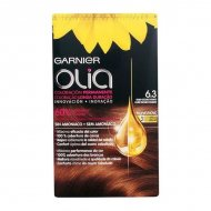 Barva bez amoniaku Olia Garnier Dark golden blonde