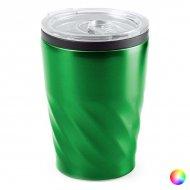 Sklenice s Víkem Nerezová ocel (350 Ml) 146283 - Zelený