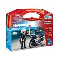 Akční postava City Action Police Playmobil 5648 Černý (13 Pcs)