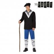 Kostým pro dospělé Bask (4 Pcs) - M/L