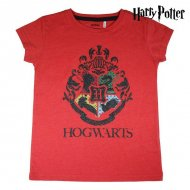 Děstké Tričko s krátkým rukávem Harry Potter Červený - 8 roků