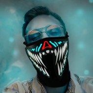 Maska Led Monstrum