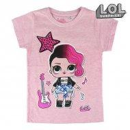 Děstké Tričko s krátkým rukávem LOL Surprise! 74045 Růžový - 5 roků