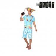 Kostým pro dospělé Havajčan - XL