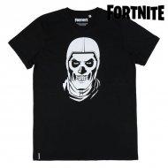 Děstké Tričko s krátkým rukávem Fortnite Černý - 10 roků