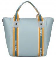 David Jones moderní světle modrá dámská kabelka ve sportovním designu 5933-2