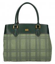 Zelená dámská kabelka do ruky David Jones CM5499