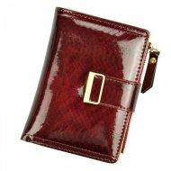 Červená dámská peněženka v dárkové krabičce MILANO DESIGN