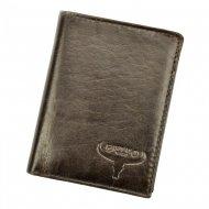 Kožená pánská peněženka tmavě hnědá RFID v krabičce BUFFALO WILD
