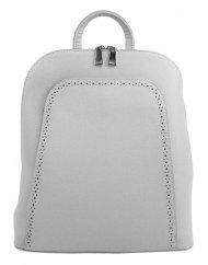 Elegantní světle šedý dámský batoh 5301-BB