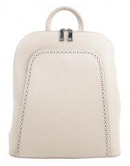 Elegantní krémový dámský batoh 5301-BB