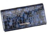 Gregorio Kožená modrá dámská peněženka dárkové krabičce