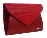 Červené matné dámské psaníčko SP126 GROSSO