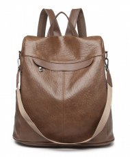 Hnědý dámský bezpečný batoh Miss Lulu
