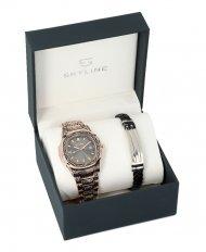 SKYLINE pánská dárková sada hodinky s náramkem 2850-13