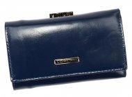 Lorenti modrá dámská kožená peněženka v dárkové krabičce