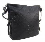 Černá crossbody dámská kabelka XH5012