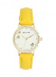 Náramkové dámské hodinky s kamínky Skyline Quartz 9300-6
