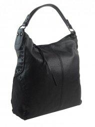 Černá dámská kabelka přes rameno 5091-BB