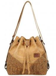 SOBREIRO Korková přírodní dámská kabelka přes rameno
