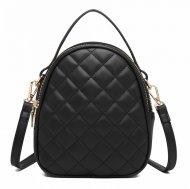 Černá crossbody dámská kabelka s ouškem Miss Lulu