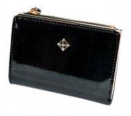 Černá menší dámská peněženka v dárkové krabičce MILANO DESIGN