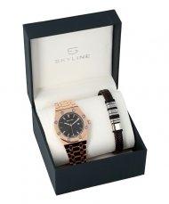 SKYLINE pánská dárková sada hodinky s náramkem 2850-9