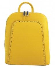 Elegantní žlutý dámský batoh 5301-BB