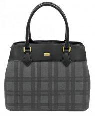 Černá dámská kabelka do ruky David Jones CM5499