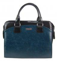Dámská elegantní taška na notebook modrá petrolejová ST01 15.6