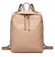 Béžový dámský elegantní batoh Miss Lulu