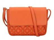 Oranžová dámská crossbody kabelka AM0111