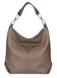 Kožená dámská kabelka Shaila blátivá hnědá